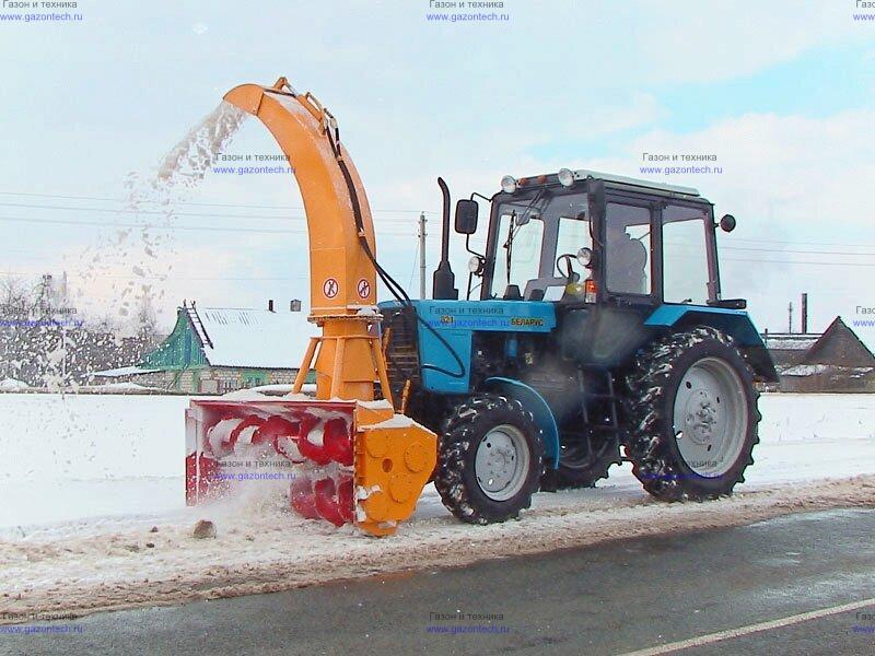 Какие мотоблоки лучше для уборки снега