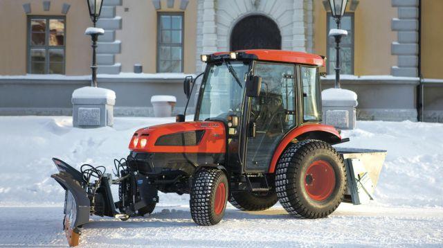 Трактор для уборки снега аренда