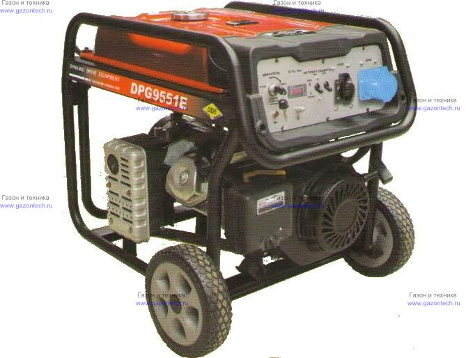 Patriot генератор бензиновый gp 6530